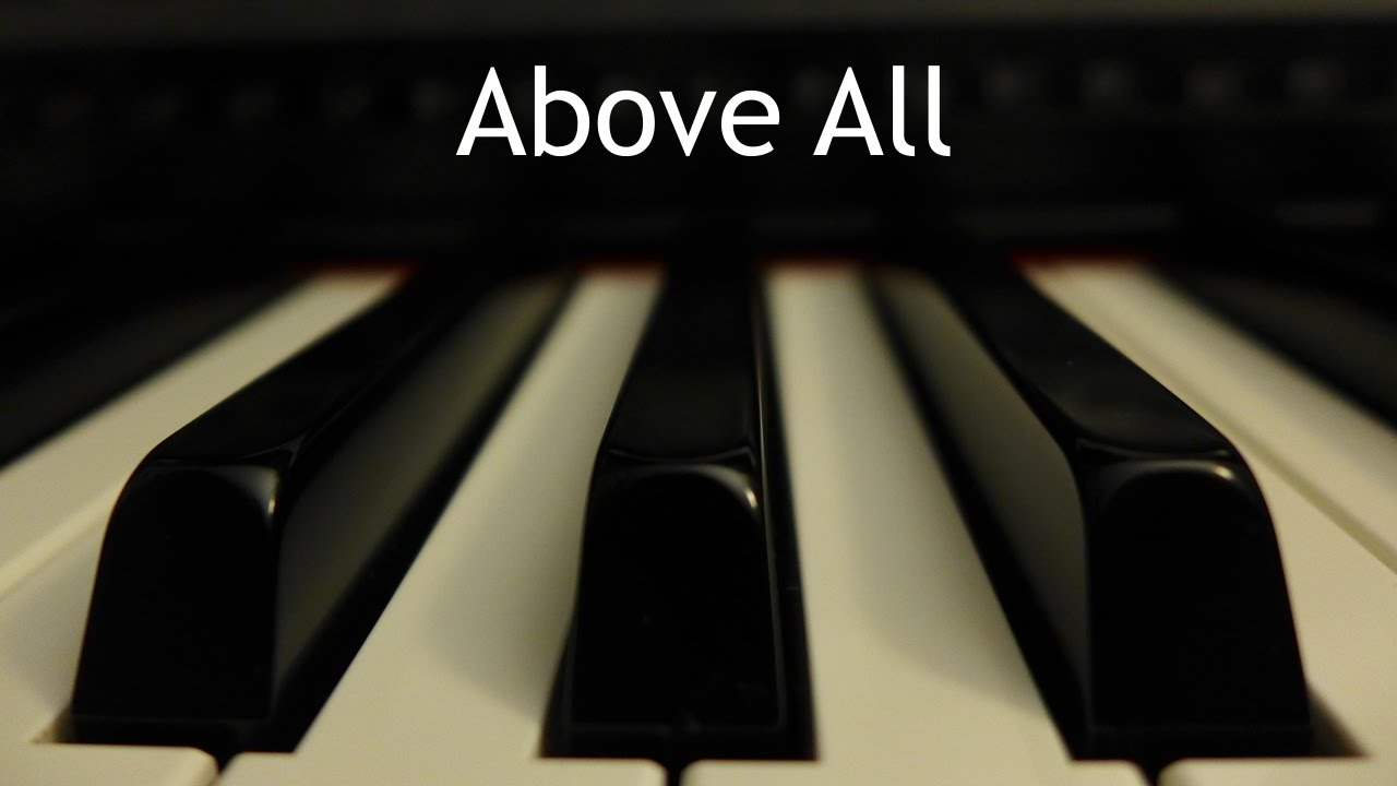Sobre todo | Instrumental piano - Kaleb Brasee