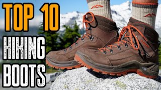 Best Hiking Boots 2019  - Top 10 Shoes for Hiking, Trekking, Backpacking & Trail