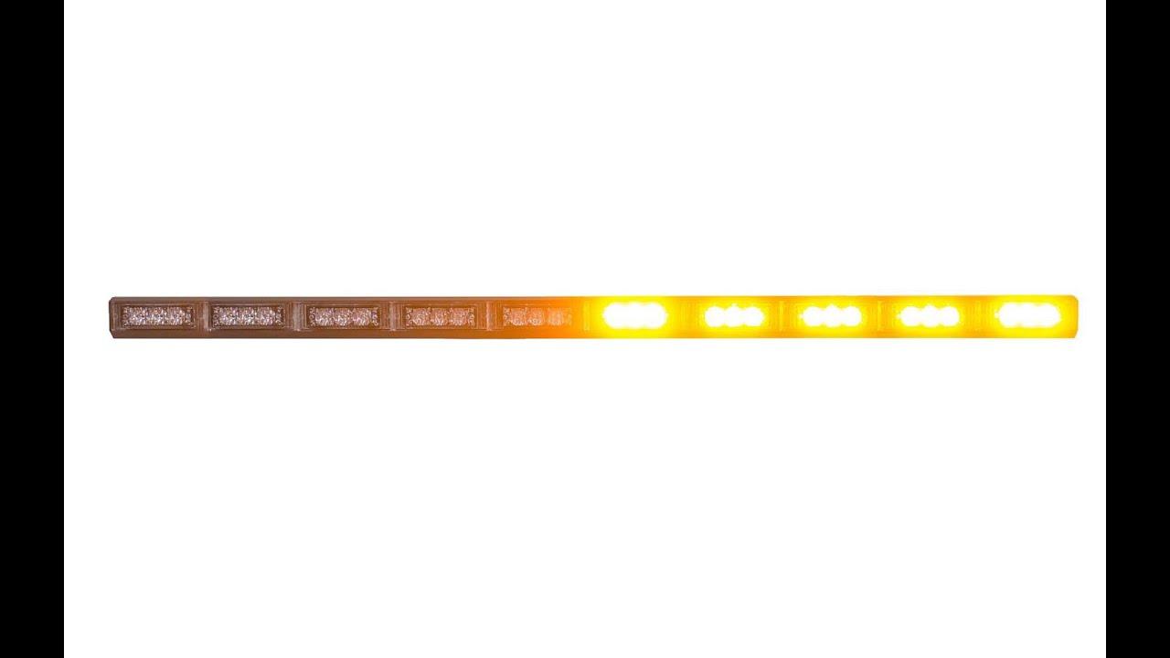 Rampe lumineuse avec led orange d filement de 120 cm - Rampe lumineuse a led ...