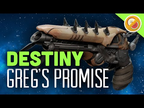 DESTINY Dreg's Promise Fully Upgraded Exotic Sidearm Review (House of Wolves DLC)
