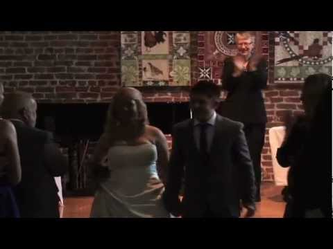 Alex and Sarah get married