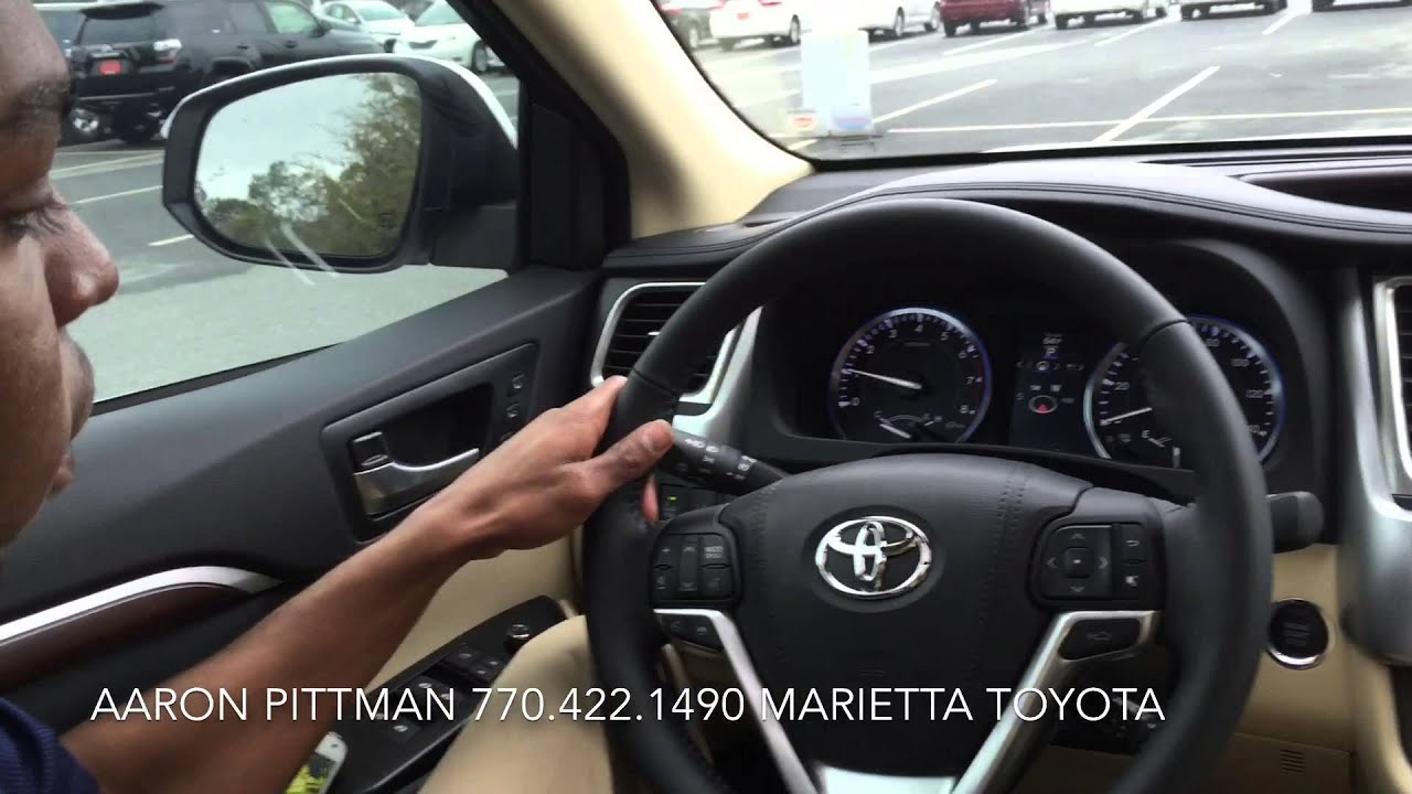 new 2015 toyota highlander limited platinum presented by aaron