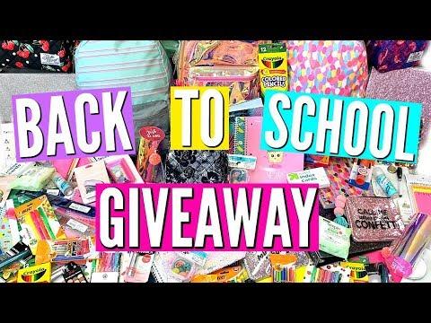 HUGE BACK TO SCHOOL GIVE♡AWAY 2018