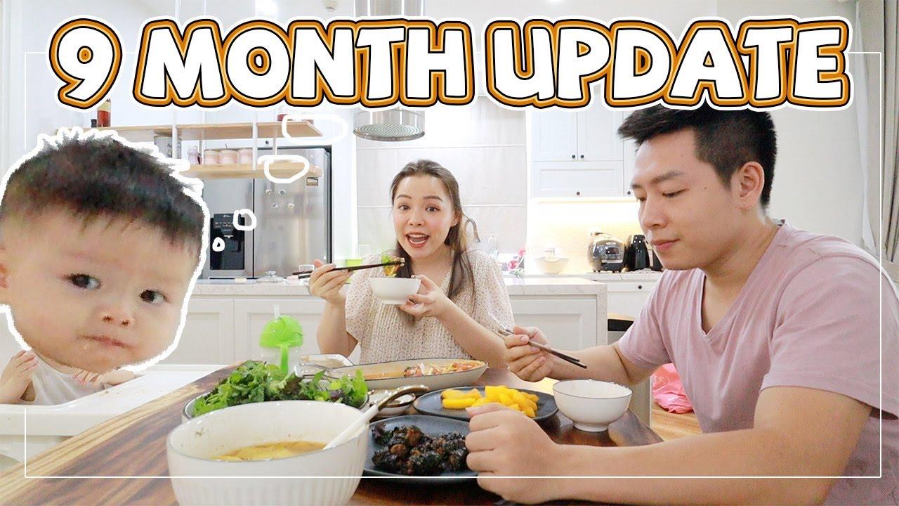 Bơ Đã 9 Tháng Tuổi Ạ!! 🤗9 Month Update ❤️TrinhPham Family