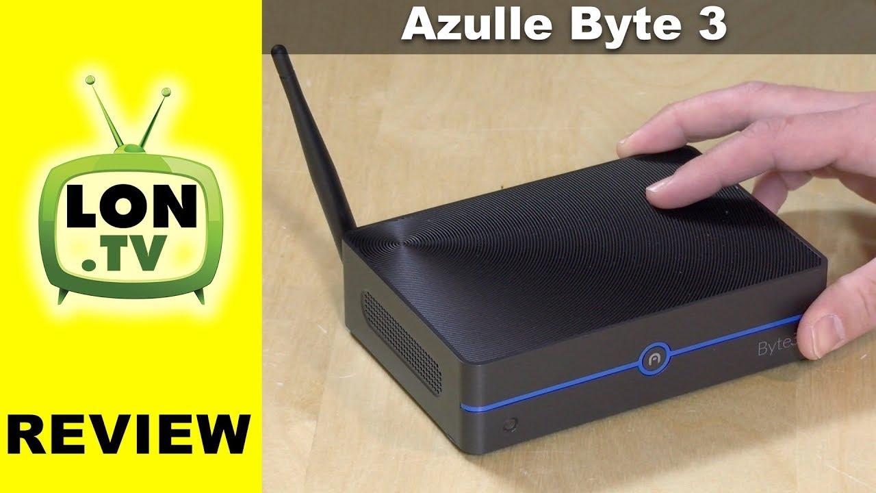 Azulle Byte3 Review - $199 Fanless Intel Apollo Lake Mini PC