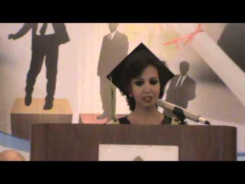 MBA Graduation Speech for Class 2013 - The Arab Academy Graduate School of Business