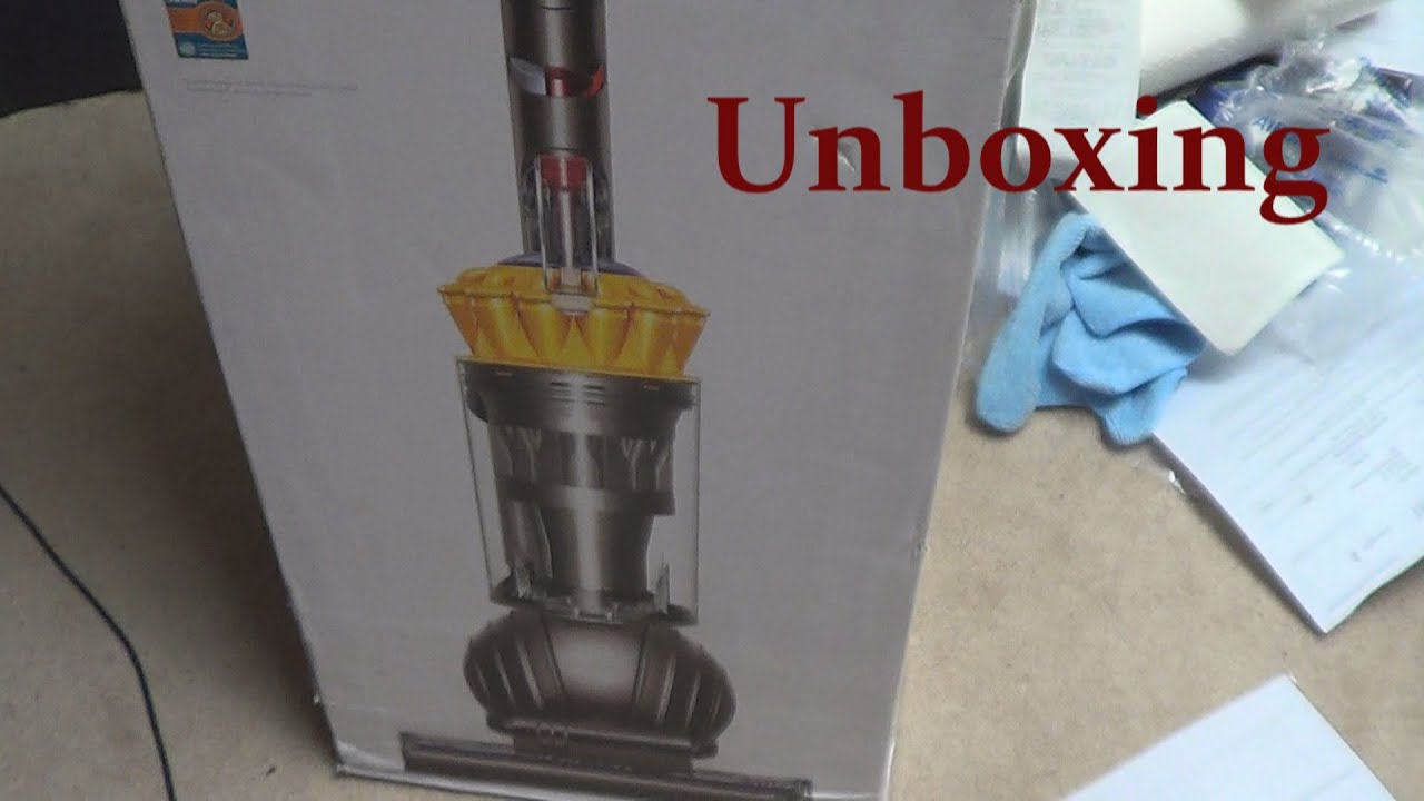 dyson dc65 | ball multi-floor vacuum unboxing {2015 model} - youtube