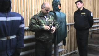 сдача экзамена на лицензию охранника (спец. средства) Одеть шлем