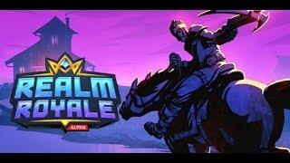 NEW BR! REALM ROYALE - Live Stream PC