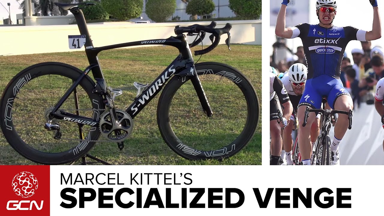 7acefd1600a Marcel Kittel's Specialized S-Works Venge ViAS - YouTube