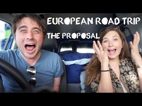 European Roadtrip Adventure - Czech Republic (Český Krumlov) - Travel Vlog (The Proposal)