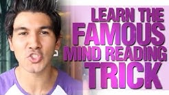 How To Read Someone's Mind? Learn The Famous Mindreading Trick!