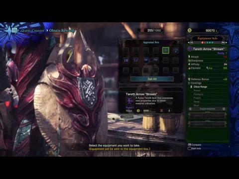 Monster Hunter: World (PS4) Gunner Alt Siege Farming pt 3