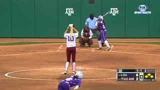 04/14/2013 LSU vs Texas A&M Softball Highlights