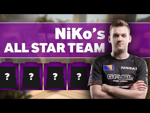 FaZe NiKo's All Star Counter-Strike Team