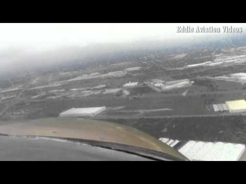 ILS approach circle to land in actual IFR conditions in Monterrey Mexico  SECOND PART