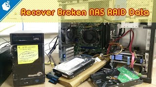 How to Recover Broken NAS RAID Data using ReclaiMe
