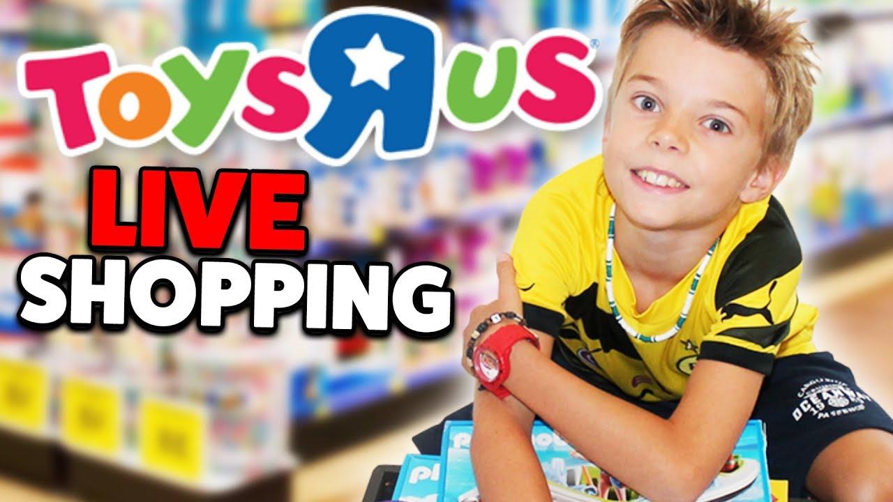 Leons LIVE SHOPPING im TOYS R\' US 🎁🎁 Der Spielzeug Himmel - Lulu ...