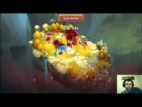Castle Clash: Testing Out  Twitch