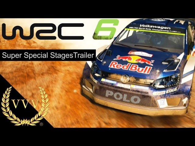 WRC 6 Super Special Stages Trailer