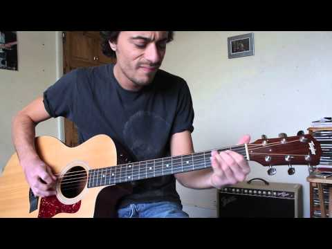 Acoustic Solo Blues Guitar Lesson