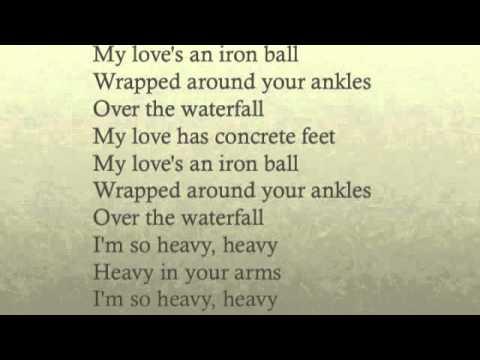 heavy florence and the machine lyrics