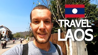 A DAY IN LUANG PRABANG & COST: TRAVEL LAOS 🇱🇦