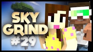 MINECRAFT SKY GRIND - EP29 - FIND THE PORTAL
