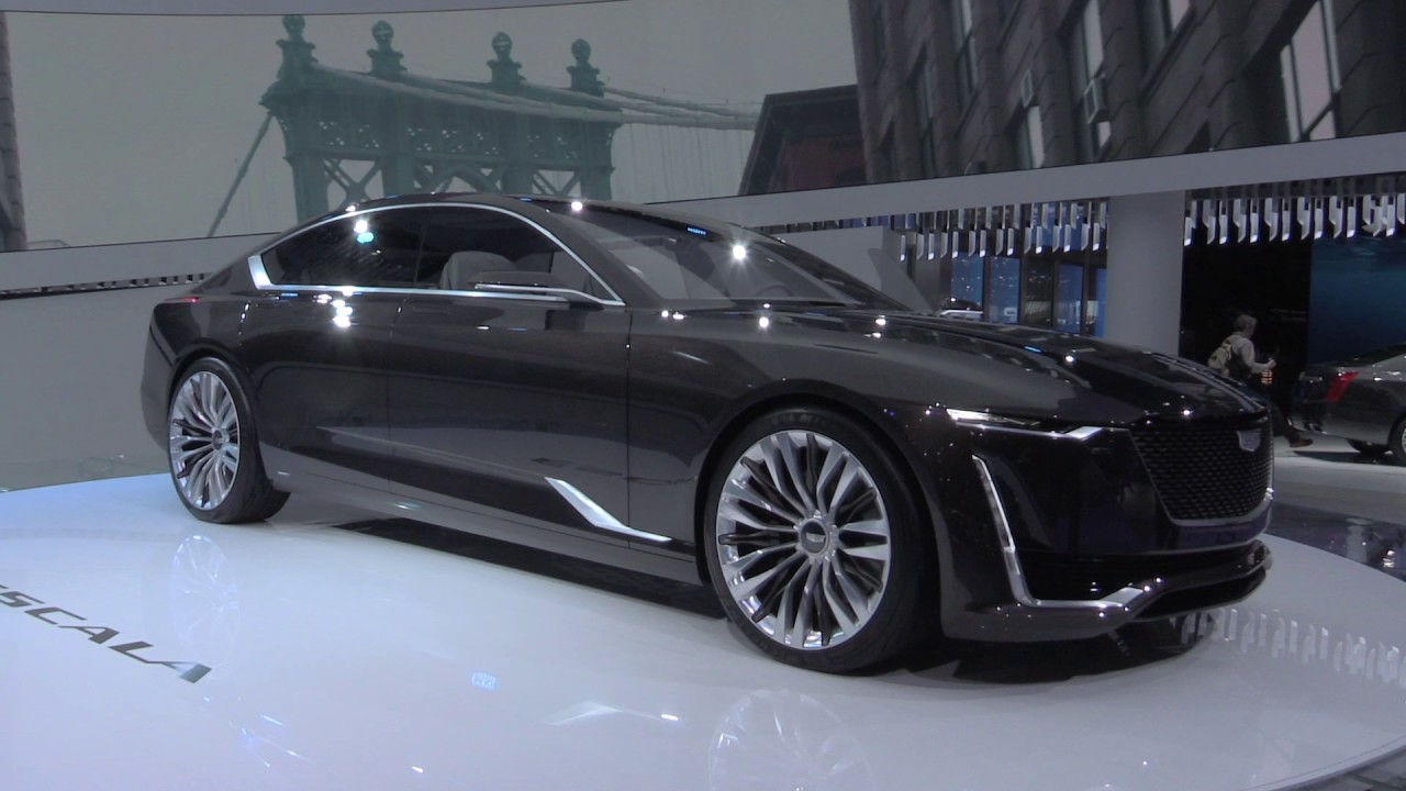 2018 Cadillac Escala at 2017 Geneva Motor Show ...