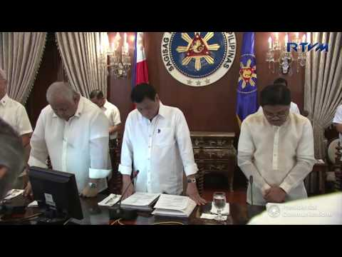 35th Presidential Agrarian Reform Council PARC Meeting 9/12/2016