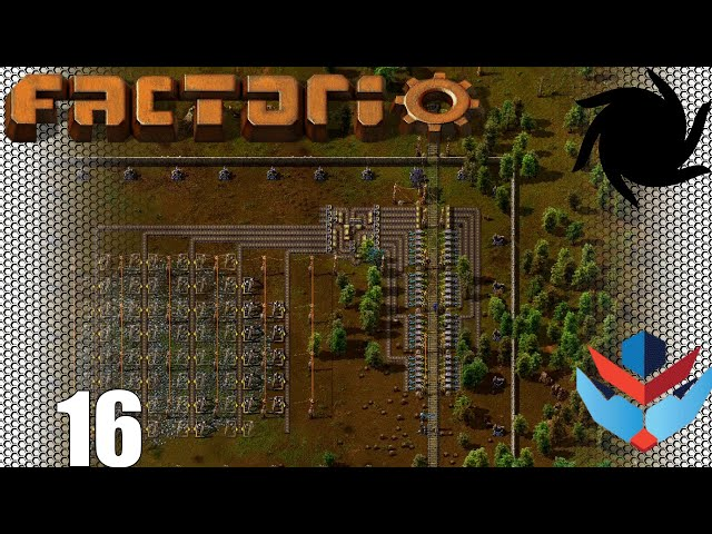 Factorio 1.0 Multiplayer 1K SPM Challenge - 16 - Iron Outpost