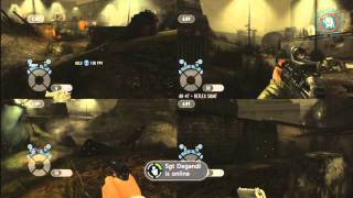 GoldenEye 007: Reloaded -4 Player Split Screen Gameplay GameCast