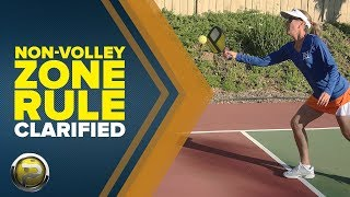 The Most Complete Pickleball Non Volley Zone Rule Video - Pickleball 411