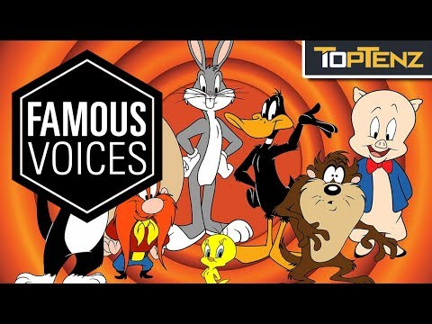 Top 10 Famous VOICE ACTORS Who Helped Shape HOLLYWOOD