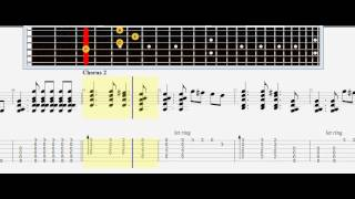 Sungha Jung - Wrecking Ball (Miley Cyrus Cover) tabs note guinar acustic lesson табулатура, ноты