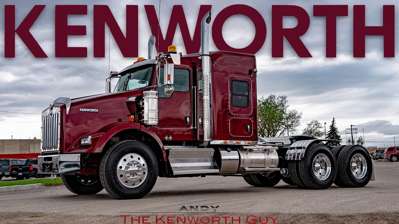 THE WORKHORSE   2022 KENWORTH T800 TOUR   THE KENWORTH GUY