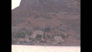 Город - крепость Монемвасия в Греции.(Монемвасия - это византийский город-крепость на острове, соединённом узким перешейком с Пелопоннесом. Нахо..., 2012-01-31T20:22:08.000Z)