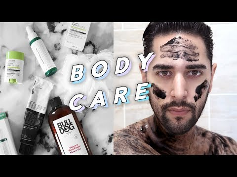 Body Skincare Routine - Body Care / Shower Products Routine✖ James Welsh