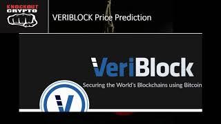 VERIBLOCK Price Prediction VeriBlock Coin VeriBlock Bittrex Initial Exchange Offering