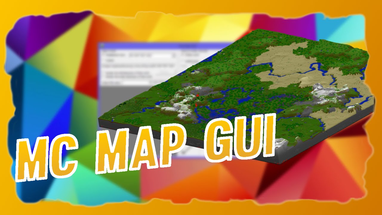 Minecraft Overviewer Mit MC MAP GUI Erstellen Tutorial German - Minecraft server map erstellen