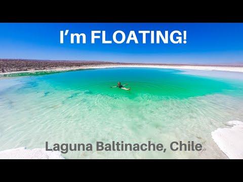 [S2 - Eps. 55] I'm FLOATING!! in Laguna Baltinache, Chile