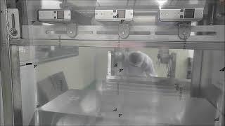 인터맥 소형마킹기, 진공포장지 제조일자마킹 사례
