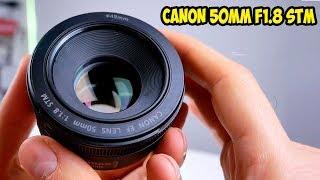 Canon 50mm F1.8 STM Обзор, тест и впечатление