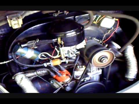 The Freshly Tuned-up VW Engine
