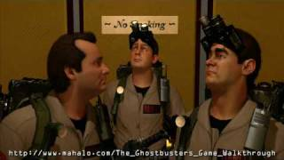 The Ghostbusters Game Walkthrough - Mission 1: Hotel Sedgewick Part 2