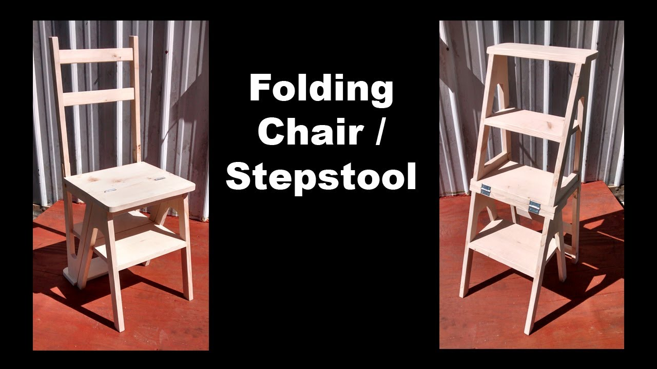 The Step Stool Chair   #001   YouTube