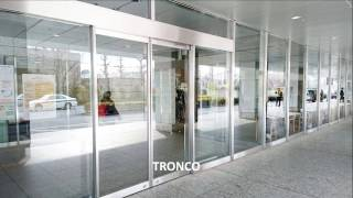 [TRONCO] Automatic Sliding Door 不鏽鋼橫拉自動門 (風除室 Stainless Windbreak Room)
