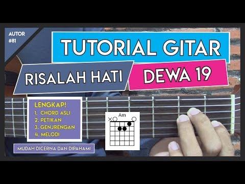 Tutorial Gitar (RISALAH HATI - DEWA 19) VERSI ASLI