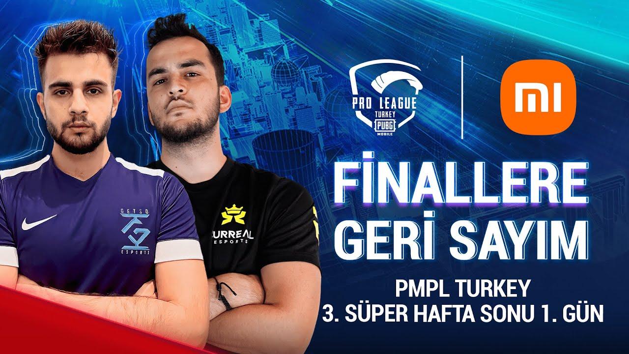 [TR] 2021 PMPL Turkey SHS3G1   Sezon 2   Xiaomi   PUBG MOBILE Pro League 2021