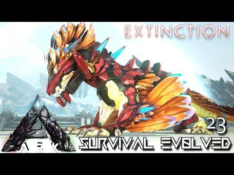 ARK: EXTINCTION - ROCK DRAKE IN EXTINCTION !!! | ARK SURVIVAL EVOLVED GAMEPLAY E23